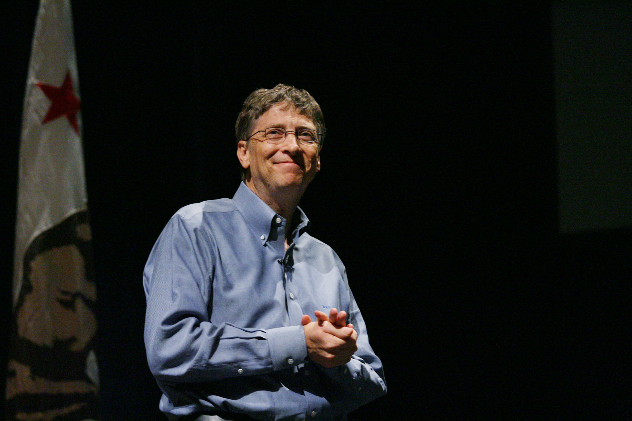 Microsoft Chairman Bill Gates introduces Microsoft DreamSpark at Stanford University